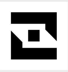 Jj joj lol ll initials geometric letter company vector