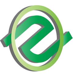logo design infinite for business vector image