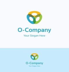 O company logo vector