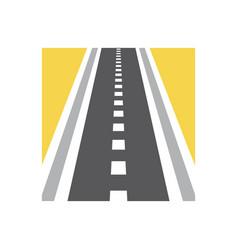 Pathway logo combination speedway vector