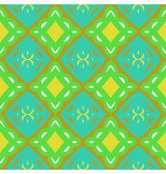 Pattern with bold stylized Indian motifs vector