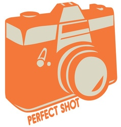 Perfect Shot vector image