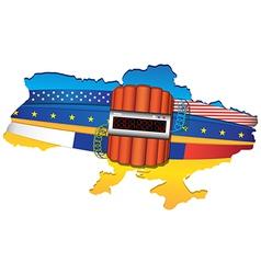 Ukraine Conflict vector image