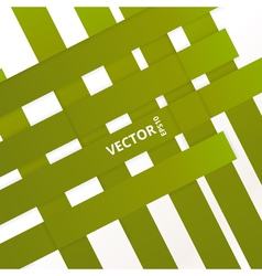 Green Line vector image vector image