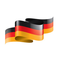 Germany flag on a white vector
