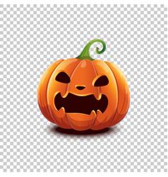 Happy halloween halloween pumpkin in vector