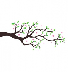 illustration tree vector image