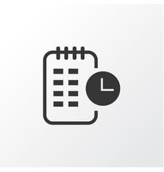 Long-term plan icon symbol premium quality vector