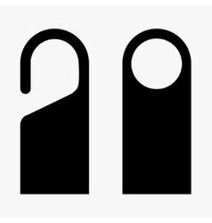 modern do not disturb icons set vector image