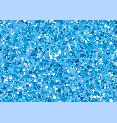 blue glitter background vector image