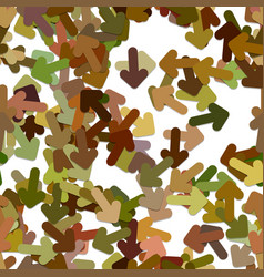 Repeating arrow pattern background - vector