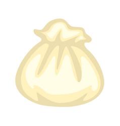 Uncooked raw dumpling vector