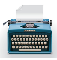 vector typewriter xxl icon vector image