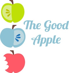 Good apple vector