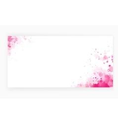 Grunge pink art background vector