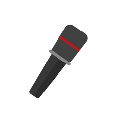 Microphone professional equipment vector