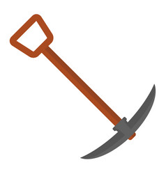 pickaxe for mining icon vector image