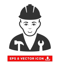 Serviceman EPS Icon vector