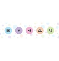 texture icons vector image