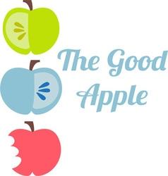 The Good Apple vector