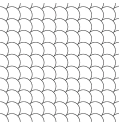 simple seamless pattern diagonal fish scales vector image