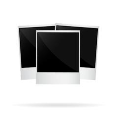 photo polaroid vector image