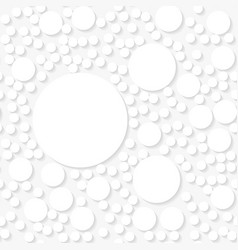 seamless white origami pattern vector image vector image