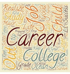 How To Help Your Child Find A st Century Career vector image vector image