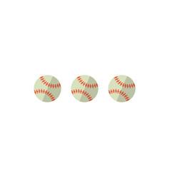 baseballs vector image