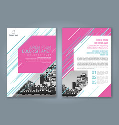 Cover annual report 923 vector