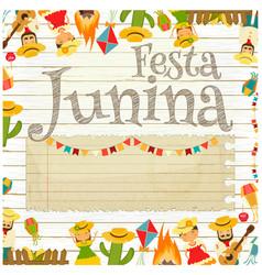 Festa junina - brazil festival vector