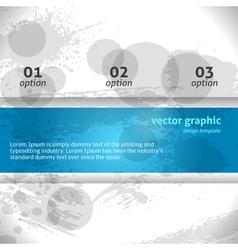 Modern Grunge Banner Banner vector image