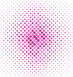 Pink color dot pattern background vector image