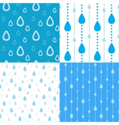 rain backgrounds vector image