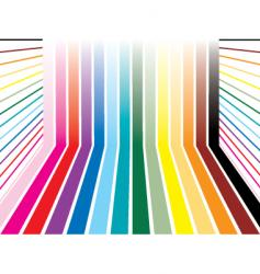 rainbow room vector image