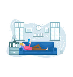 Stay at home vector