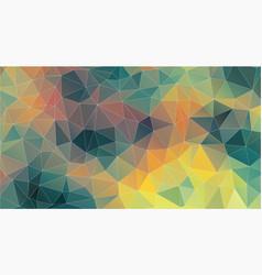 triangle background original vintage color vector image