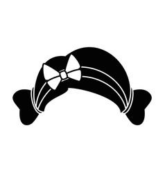 woman hair icon vector image