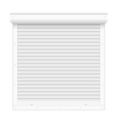 rolling shutters vector image