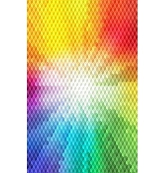 Abstract Isometric Cube Shape Background for vector image