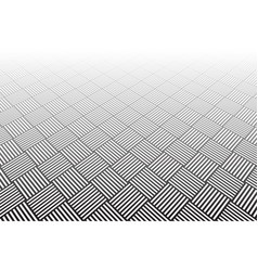 geometric checked background vector image