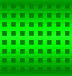green geometric pattern background vector image