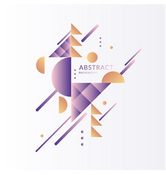 modern background with abstract elements and vector image