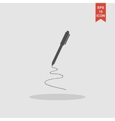 pen - icon vector image