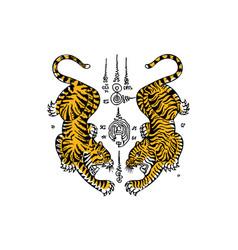Tiger03 vector