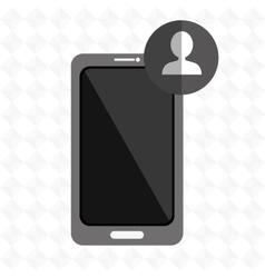 smartphone services design vector image vector image