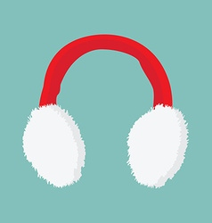 Ear muffs icon vector