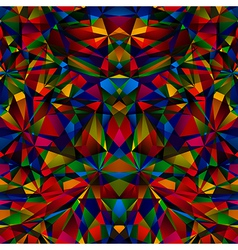 Geometric surface seamless pattern vector image