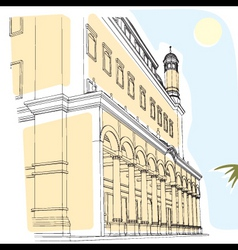 ld building vector image vector image