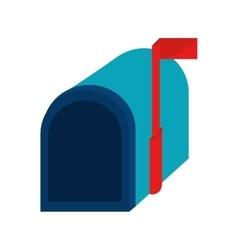 mailbox mail correspondence vector image
